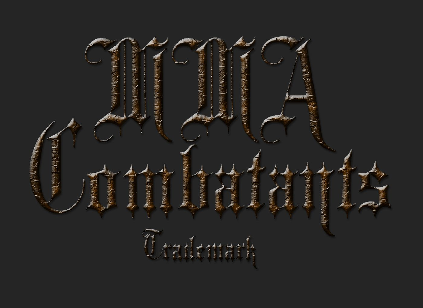 MMA Combatants - Full Trademark Logo